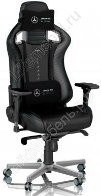 Стул Noblechairs Epic Mersedes AMG Ed pu leather black
